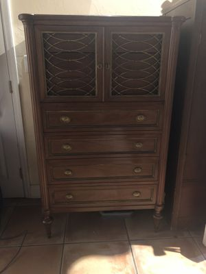 Antique Solid Wood Dresser for Sale in Miami, FL