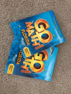 Go Math books for kindergarten for Sale in MAGNOLIA SQUARE, FL