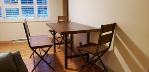 Wood &Metal Industrial Table for Sale in St. Louis, MO