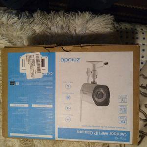 4 Zmodo HD WiFi Indoor /Outdoor Camera Kit for Sale in Auburn, WA
