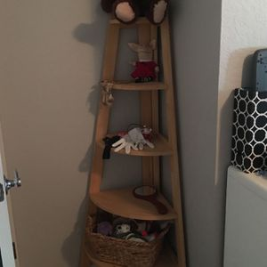 Corner shelf, real wood for Sale in Escondido, CA