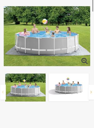 16 x 48in prism Intex above ground pool for Sale in South Gate, CA