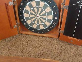 Brand New Cherry Wood Dart Board for Sale in Auburn,  GA