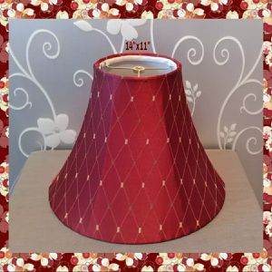 BEAUTIFUL BURGUNDY LAMP SHADE for Sale in Ontario, CA