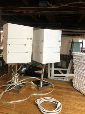 tow beautiful lamps good condition for Sale in Arlington, MA