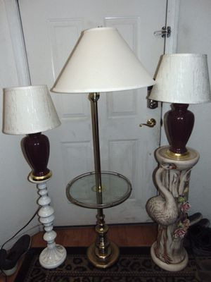 3 lamps for Sale in Las Vegas, NV