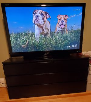 TV 65 inch Sharp not smartv + Furniture for Sale in Revere, MA