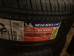 4 tires new michelin 225/55R16. 95V for Sale in Baltimore, MD