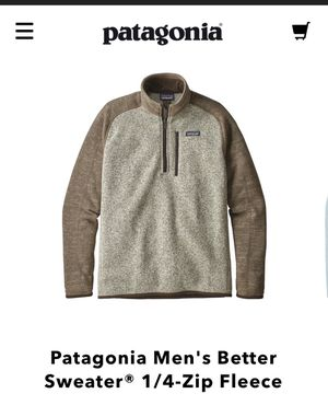 Patagonia Men's Better Sweater® 1/4-Zip Fleece*brand new tag attached* for Sale in Brooklyn, NY
