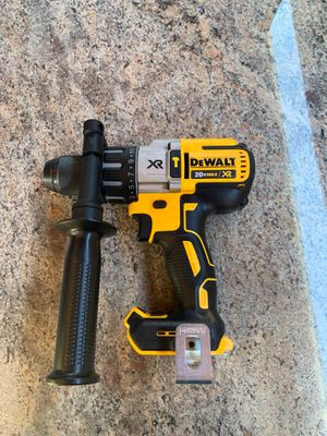 20-Volt MAX XR Lithium-Ion Cordless 1/2 in. Premium Brushless Hammer Drill (Tool-Only) for Sale in Grand Prairie, TX