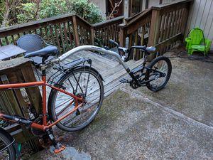 Trek Afterburner with trailer for Sale in Portland, OR