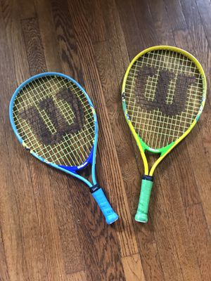 """Kids tennis rackets 18"""" and19"""" for Sale in Windsor Hills, CA"""