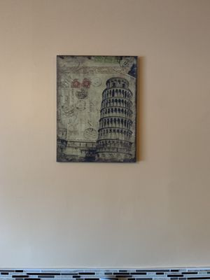 Canvas art (statue of liberty/leaning tower of Pisa) for Sale in Palm City, FL