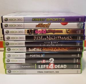 Lot of Xbox 360 games for Sale in Washington, PA