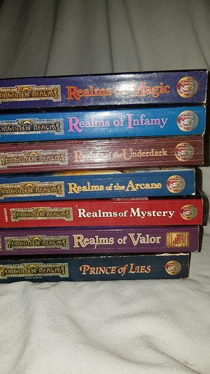 Lot of forgotten realms books for Sale in West Palm Beach, FL
