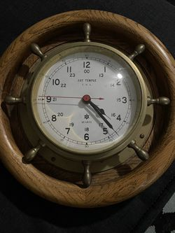 Vintage Art temple Nautical Clock for Sale in Jacksonville,  FL