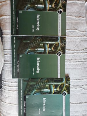 Boilermaker NCCER training books for Sale in Baton Rouge, LA