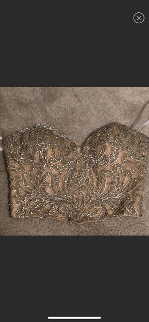 Mac Duggal two piece dress/gown size 2 for Sale in Chicago, IL