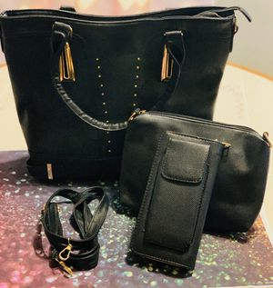 Black purse set for Sale in Naugatuck, CT