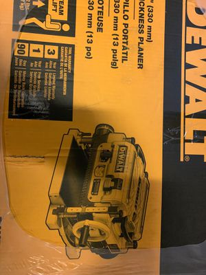 """Dewalt 13"""" thickness planer for Sale in University Place, WA"""