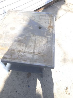 Stainless steel table for Sale in Mason City, IA