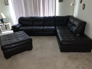 Sectional couch set for Sale in North Chesterfield, VA