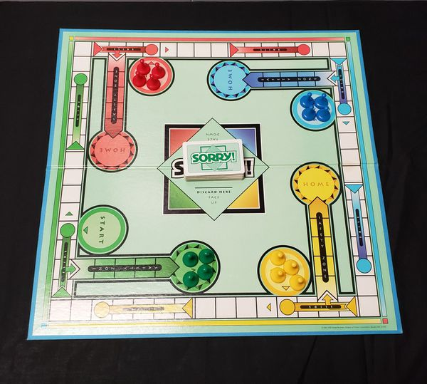 100% Complete Vintage Board Game SORRY 1992 Parker Brothers All Original Parts