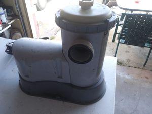 Bestway pool pump-used for Sale in Port Richey, FL