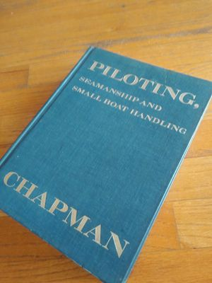 Chapman hard cover book- Small boat handling for Sale in Fort Lauderdale, FL