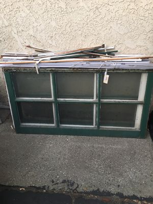 Vintage wood window for Sale in Whittier, CA
