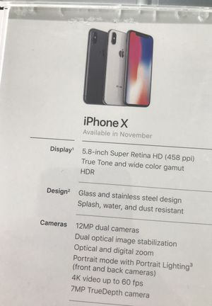 Iphone X for Sale in Parlier, CA