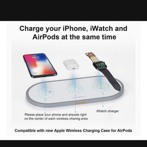 3 in 1 Smart Wireless charger (open Box $25 Pick Up Only for Sale in Damascus, OR