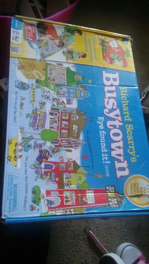 Busytown puzzle for $10 for Sale in La Mesa, CA