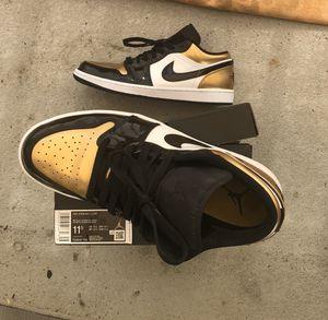Jordan 1 Low Gold Toe for Sale in Anaheim, CA