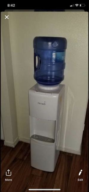 Primo white top loading cold and hot water cooler for Sale in Glendale, AZ