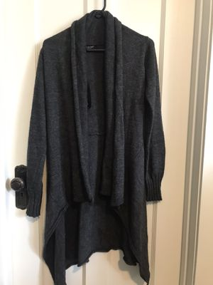 NWT-Dark Gray Cardigan by Twins, Made in Italy, Size M for Sale in Chicago, IL