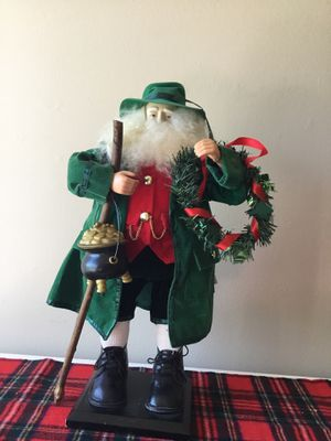 "18"" Irish Pot Of Gold Santa for Sale in Berlin, MD"