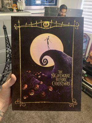 Nightmare Before Christmas Jack Book box Disney for Sale in Las Vegas, NV