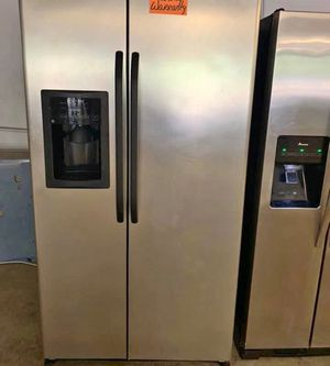 FREE DELIVERY! GE Refrigerator Fridge With Warranty Stainless Steel #999 for Sale in Ontario, CA