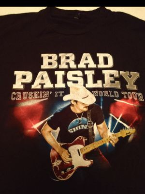 Brad Paisley country Tour shirt for Sale in Newport News, VA