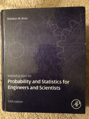 Introduction to probability and statistics for Engineers and scientists for Sale in Pittsburgh, PA