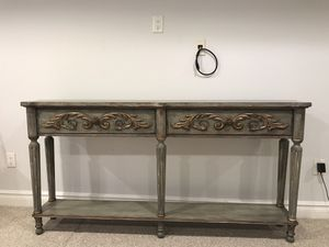 Hooker furniture console table for Sale in Sea Girt, NJ