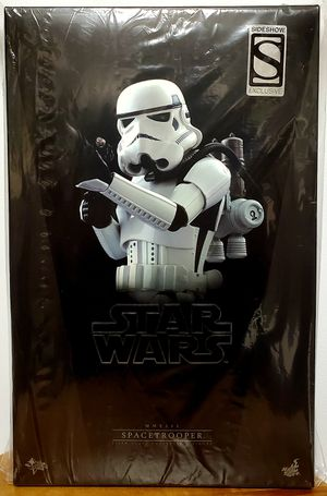 Hot Toys / Sideshow Collectibles Exclusive Star Wars: A New Hope SPACETROOPER (MMS291) 1/6 scale collectible figure (New in box!) for Sale in San Diego, CA