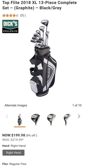 Golf clubs. Top Flite set. for Sale in Chicago, IL