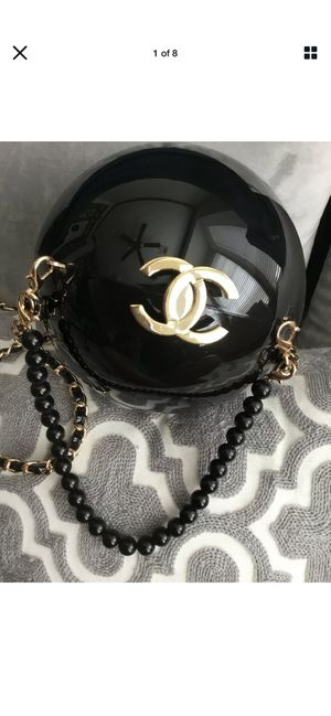 Chanel Black Pearl Ball Bag Vip Gift for Sale in Vienna, VA