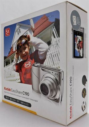 Kodak EasyShare C190 12.3 MP Silver Digital Camera for Sale in Surprise, AZ