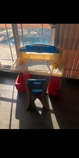 Kids Step2 Desk with Storage and Chair for Sale in Covina, CA
