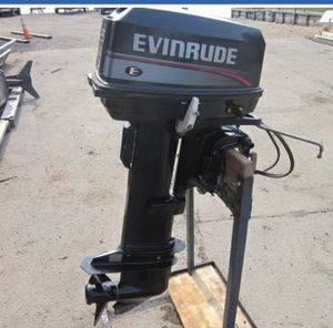 25 Hp, long shaft, electric start. Evinrude for Sale in Biloxi, MS