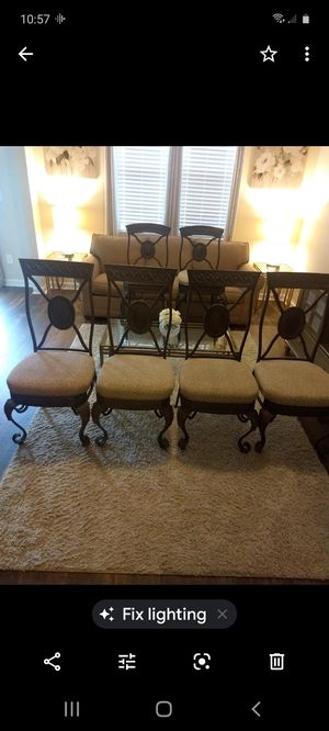 4 Dining Chairs. 2 Matching Bar Stools. for Sale in Gastonia, NC