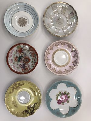 Assorted Vintage Tea Plates for Sale in Los Angeles, CA